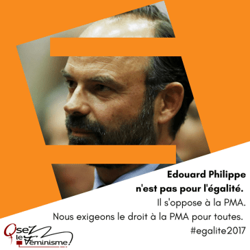 Edouard Philippe Premier Ministre, marche arrière sur l'égalité femmes-hommes ?