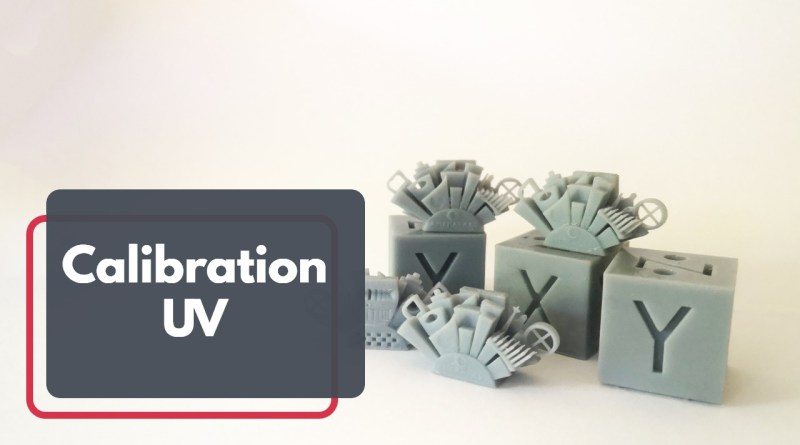 La calibration UV pour une imprimante résine