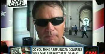 Egberto on CNN on John King Segment on Obama With GOP Congress #p2 #tcot #teaparty