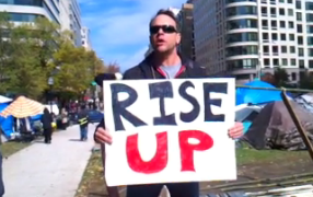 OccupyDC: Steve Fitzgerald Gives Excellent Activist Speech on Real Economic State