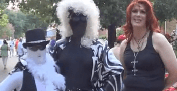 Gay Pride Parade In Houston Texas On 2012-06-23 – A Few Outtakes (VIDEO)