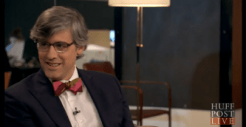 I was On HuffPost Live With Mo Rocca Talking About His New Cooking Show & Politics