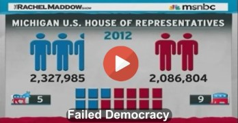 Redistricting redistricted rachel Maddow