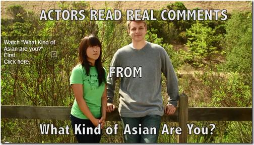 White Man Korean Woman Actors Analyze Racist Response To Stereotype Video