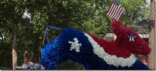 Kingwood Area Democrats 4th of July Parade && Town Center Festival
