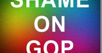 Shame On GOP
