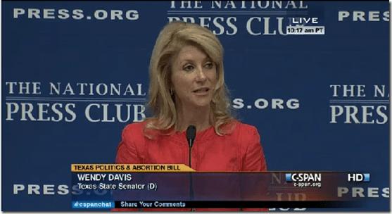 Wendy Davis The National Press Club