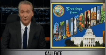 Bill Maher: Conservatives Will Bend Country Into California's Image (VIDEO)