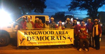 Kingwood Area Democrat Humble Parade Of Lights