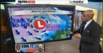 Al Roker Rush Limbaugh Polar Vortex