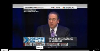 Mike Huckabee makes dog whistling and sexist remarks at RNC Winter Meeting (VIDEO)