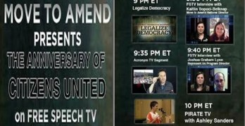 Move To Amend Documentary And Commentary Of Citizens United On Free Speech TV