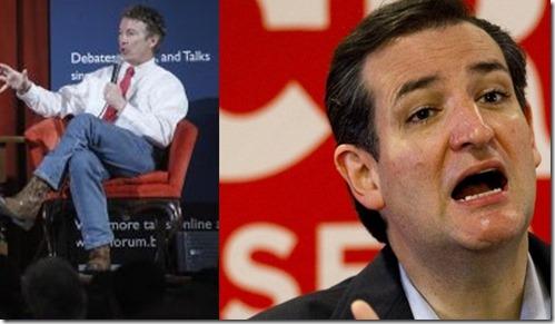 Rand Paul - Ted Cruz