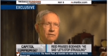 Harry Reid slams Chuck Todd and media for misinforming for GOP (VIDEO)