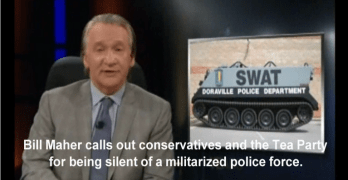 Bill Maher Tea Party