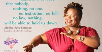 Monica Raye Simpson Equal Rights Amendment ERA