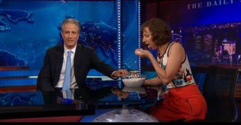 Jon Stewart, Kristen Schaal