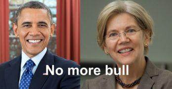 Elizabeth Warren President Obama Wall Street