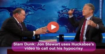 Jon Stewart - Mike Huckabee