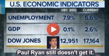 Chuck Todd challenges Paul Ryan with his past comments on Obama economy