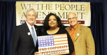 BIG NEWS from Move to Amend – We the People Amendment introduced