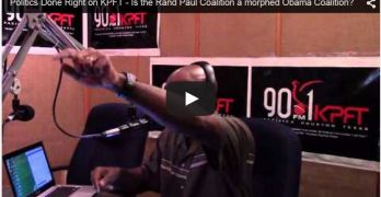 Politics Done Right on KPFT - April 9th, 2015