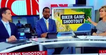 CNN Ashleigh Banfield calls out bikers as ganstas and thugs