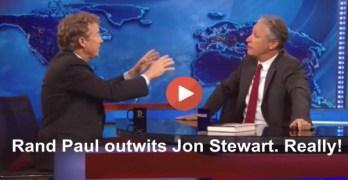 Rand Paul Outwits Jon Stewart