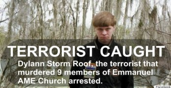 Dylann Storm Roof terrorist caught in AME Church massacre in South Carolina