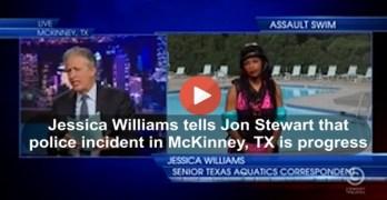 Jon Stewart's take on the Police assault of teenage girl in McKinney Texas