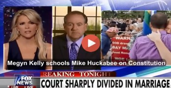 Megyn Kelly schools Huckabee on constitution