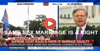 Same Sex Marriage Is A Right