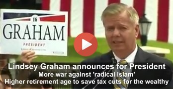 Senator Lindsey Graham Presidential Campaign Announcement