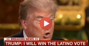 Delusional Donald Trump thinks he has the votes of Latinos (VIDEO)