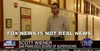 Fox News is not real news San Francisco board of supervisor Scott Wiener