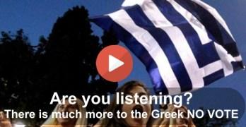 Greek No Vote 2