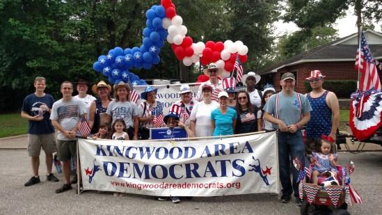 Kingwood Area Democrats KAD