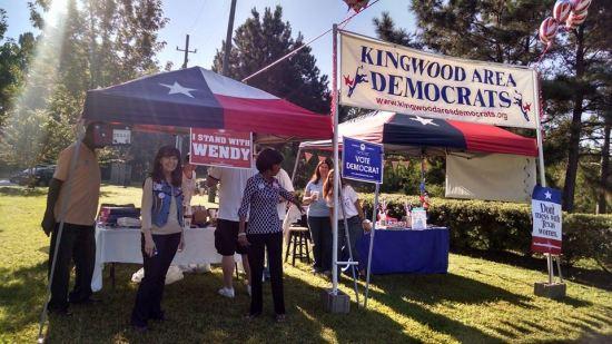 Kingwood Area Democrats Liberal in Texas