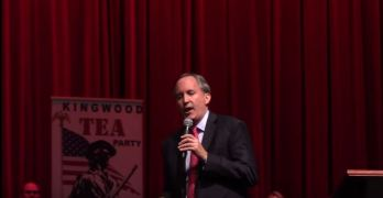 Ken Paxton at Ted Cruz Kingwood Texas Tea Party