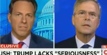 CNN's Jake Tapper takes on Jeb Bush for defending brother on 9-11 while blaming Hillary Clinton on Benghazi.