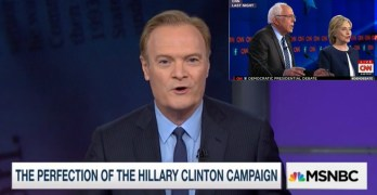 Lawrence O'Donnell's intereting take on the Hillary Clinton - Bernie Sanders race