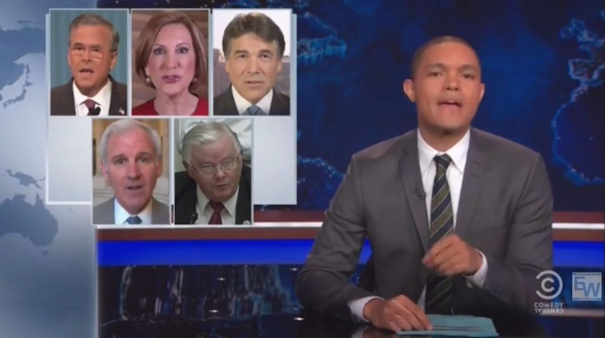 Trevor Noah calls out pro-life Republicans on guns (VIDEO)