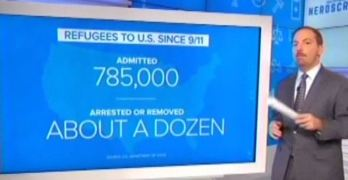 A solid report on refugees from Meet the Press' Chuck Todd. Finally (VIDEO).