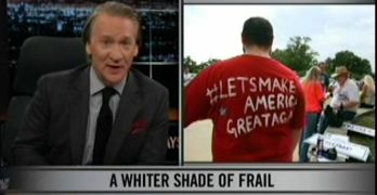Bill Maher has an important message for White people