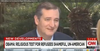 CNN confronts Ted Cruz about his refugee father getting entry to U.S