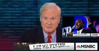 Chris Matthews excoriates Presidential Candidate Ben Carson for good reason (VIDEO)