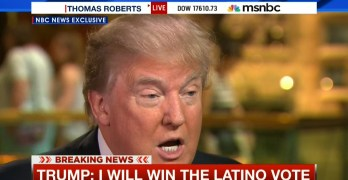 Trump say he will win the latino vote