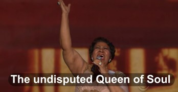 Aretha Franklin, the undisputed Queen of Soul