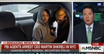 Drug price gouging CEO Martin Shkreli arrested