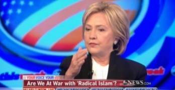 Hillary Clinton on Radical Islam Muslim